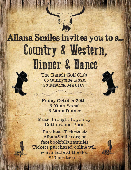 2015 Annual Fundraiser Tickets – Country Western Dine and Dance